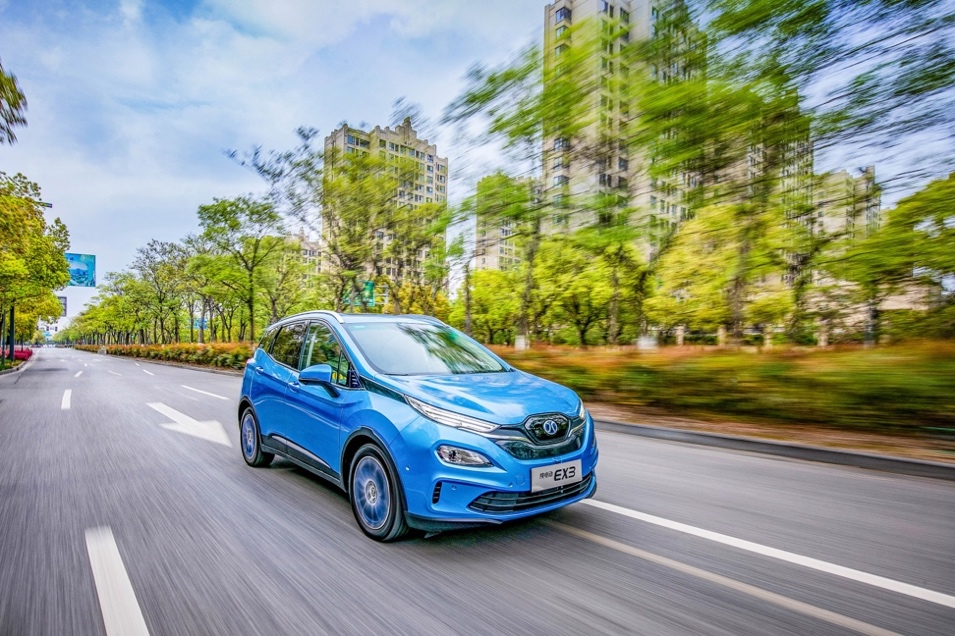 北汽新能源汽车价格